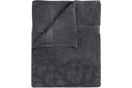 Dark grey towel