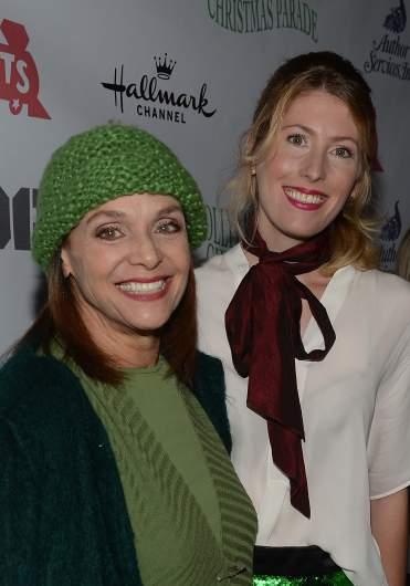Valerie Harper & her daughter