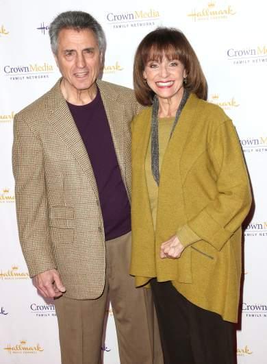 Valerie Harper & husband