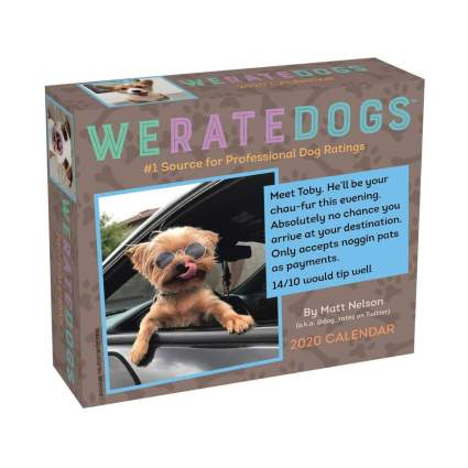 weratedogs calendar gifts for dog lovers