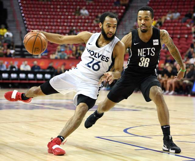 The Minnesota Timberwolves got by the Brooklyn Nets 85-77 in the NBA Summer League semifinals on Sunday and will play the Memphis Grizzlies tonight for the summer title.