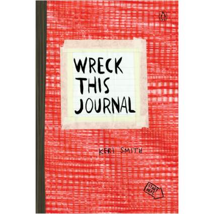 wreck this journal xmas gifts for teens