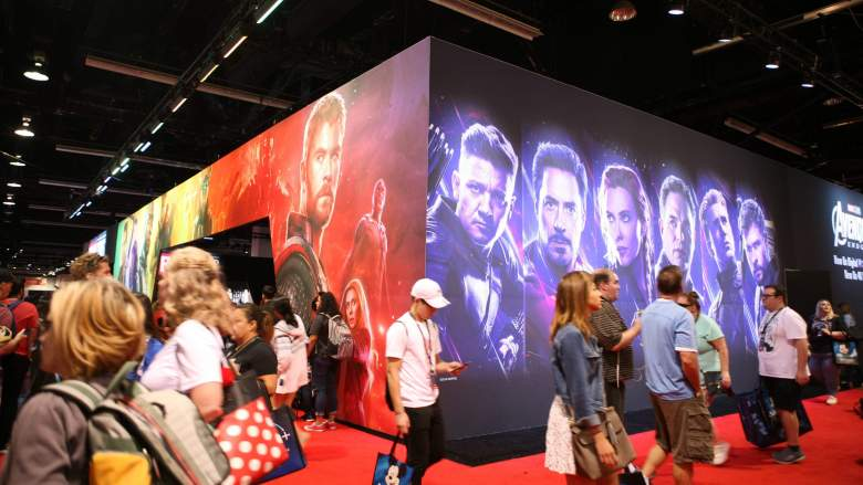 Marvel Display At The 2019 D23 Expo