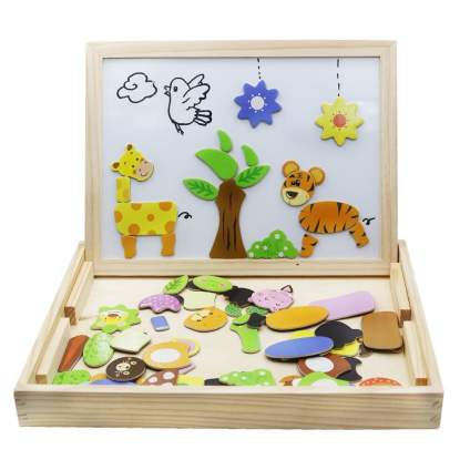 Wooden Toys Magnetic Puzzles