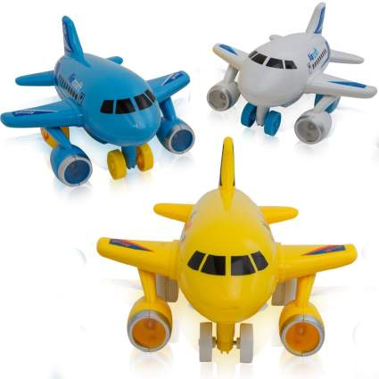 Mini Friction Powered Airplanes