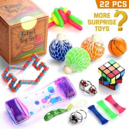 Fidget Toys Set, 22 Pcs