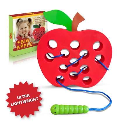 Apple Lacing & Threading Toy