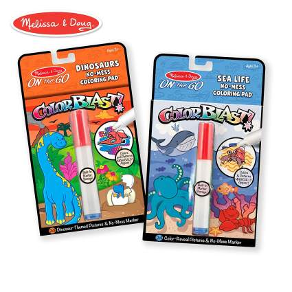Melissa & Doug On the Go Color Reveal Pictures