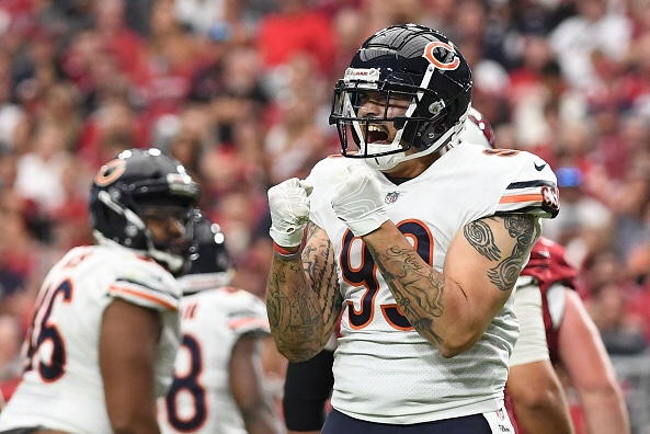 Chicago Bears Linebacker Aaron Lynch