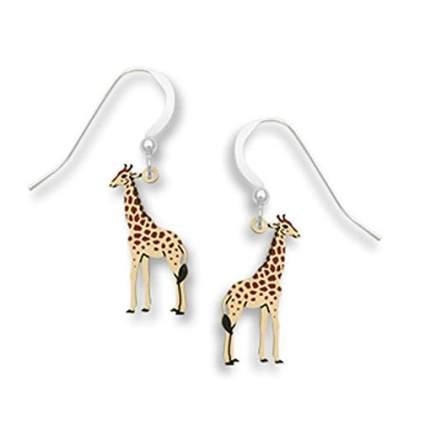 Tiny giraffee earrings