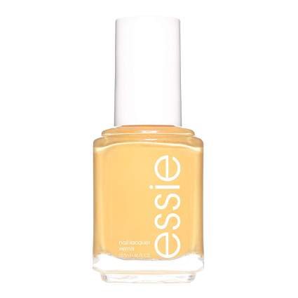 Yellow nail polish from essie