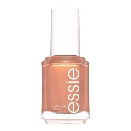 Rosy bronze nail polish