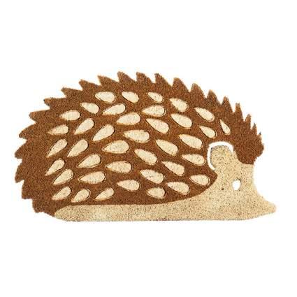 Hedgehog door mat