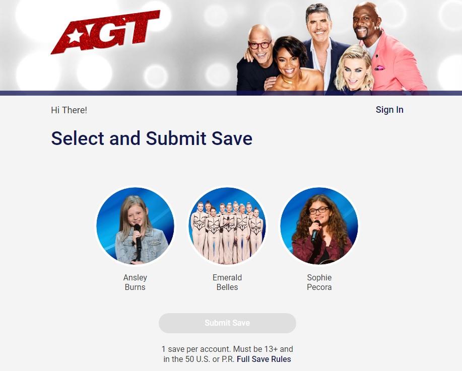 AGT 2019 Dunkin Save