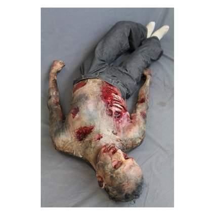 Fake rotting corpse Halloween Prop