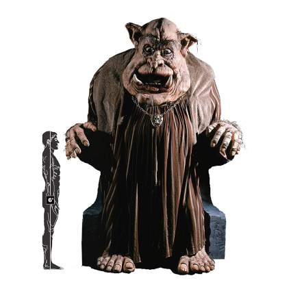 Giant troll haunted house prop