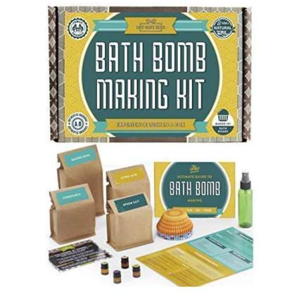 Bath Bomb Making Kit with 100% Pure Therapeutic Grade Essential Oil