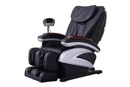 black electric massage recliner