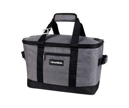 CleverMade 50 Can Collapsible Cooler Bag