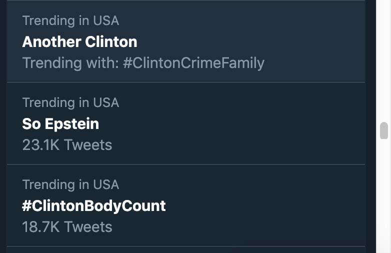 Clintonbodycount twitter