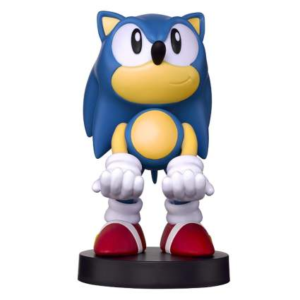 Collectible Sonic the Hedgehog Cable Guy Device Holder - works with PlayStation and Xbox controllers and all Smartphones