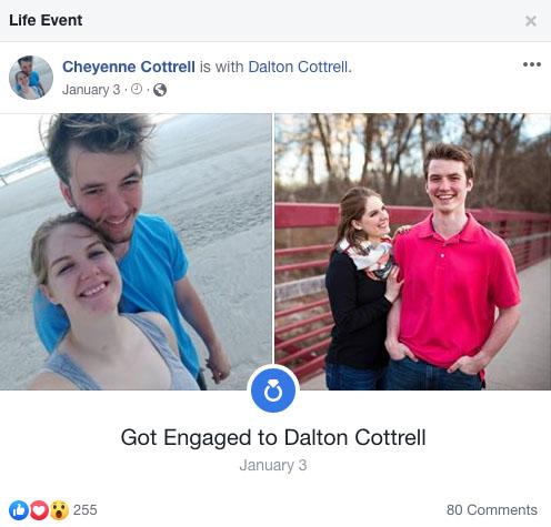 Cheyenne Cottrell Facebook