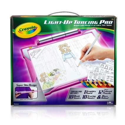 Crayola Light-up Tracing Pad - Pink, Coloring Board for Kids