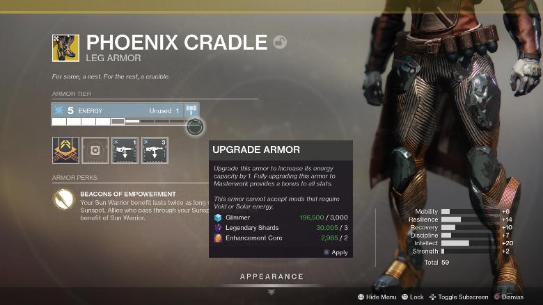 Destiny 2 Phoenix Cradle