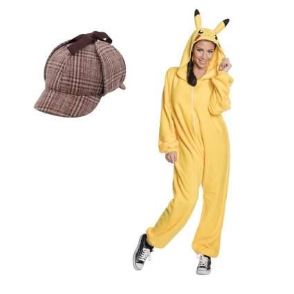 detective pikachu pop culture halloween costume