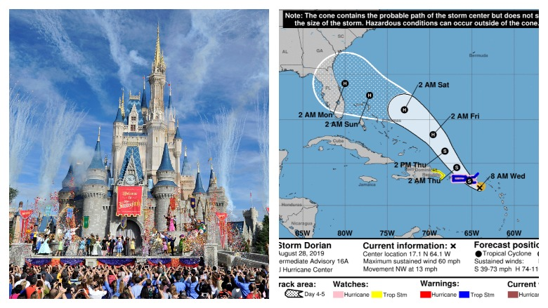 Disney World & Hurricane Dorian