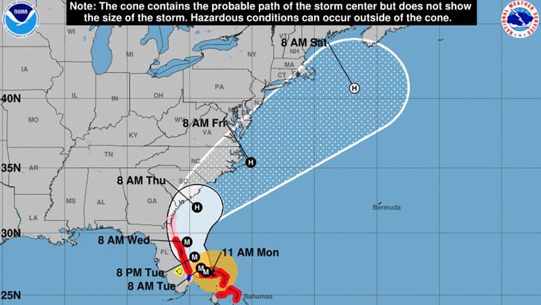 Will Hurricane Dorian Hit Florida See Latest Models Heavy Com