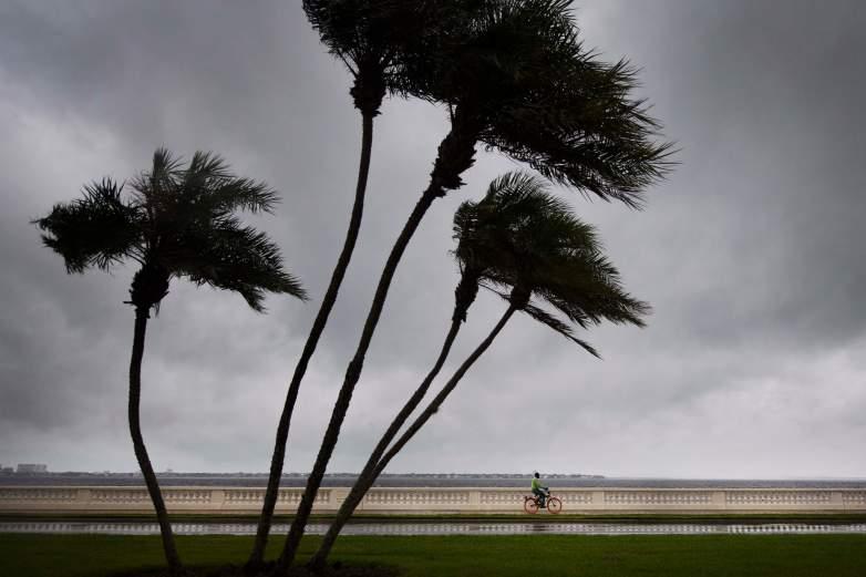 Tampa, Florida, in Hurricane Irma