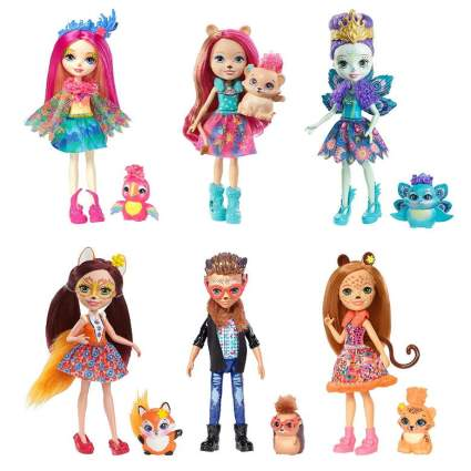 Enchantimals Natural Friends Collection Doll 6-Pack [Amazon Exclusive]