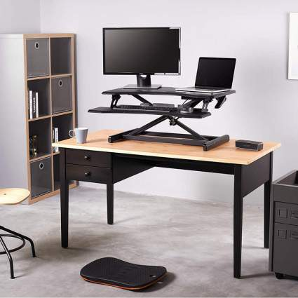 FEZIBO Stand Up Desk Converter office gadgets