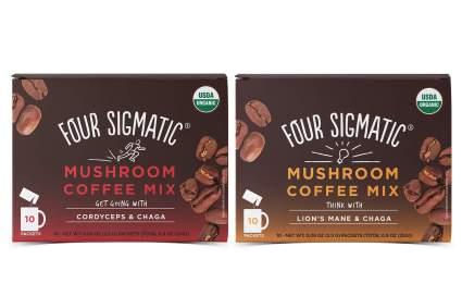 Four Sigmatic mushroom coffee blends