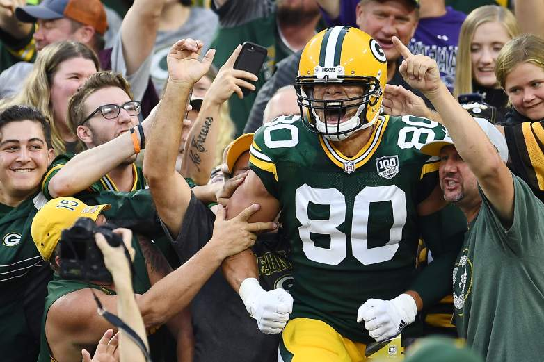 Jimmy Graham Packers Projections 1