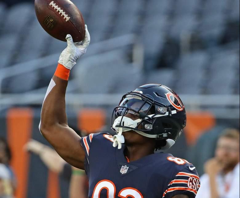 Chicago Bears Wide Receiver Javon Wims