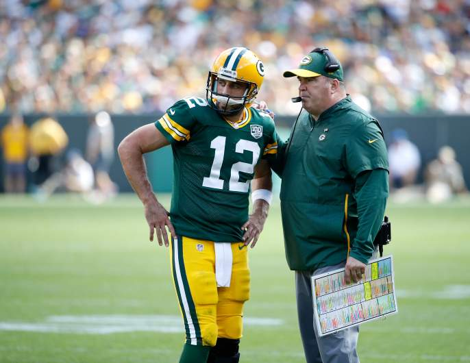 McCarthy and Rodgers Before Firing