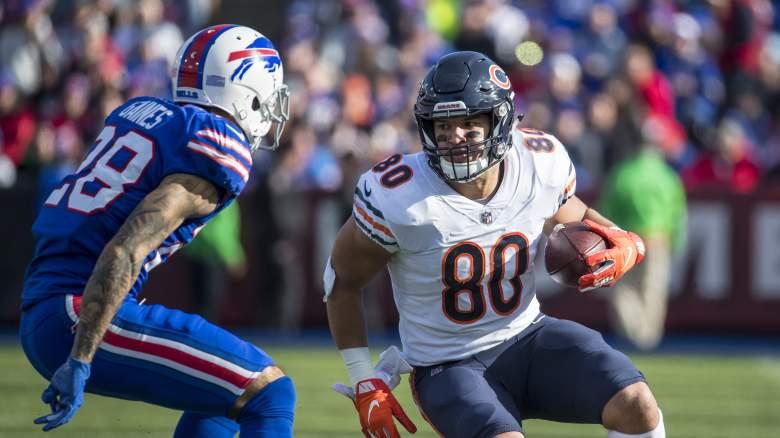 Chicago Bears Tight End Trey Burton