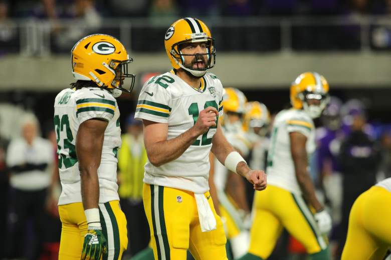 Aaron Rodgers Yelling For Camp Fight