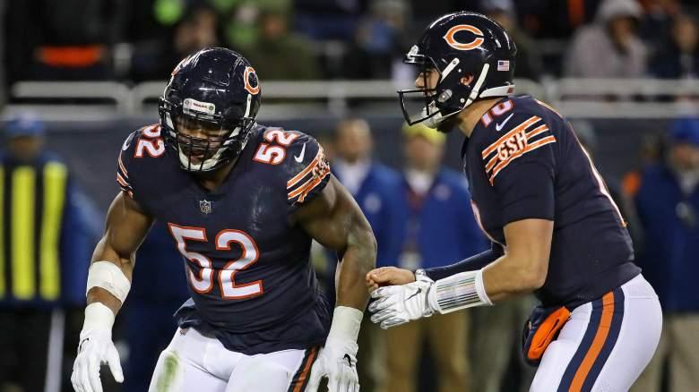 Chicago Bears star Khalil Mack