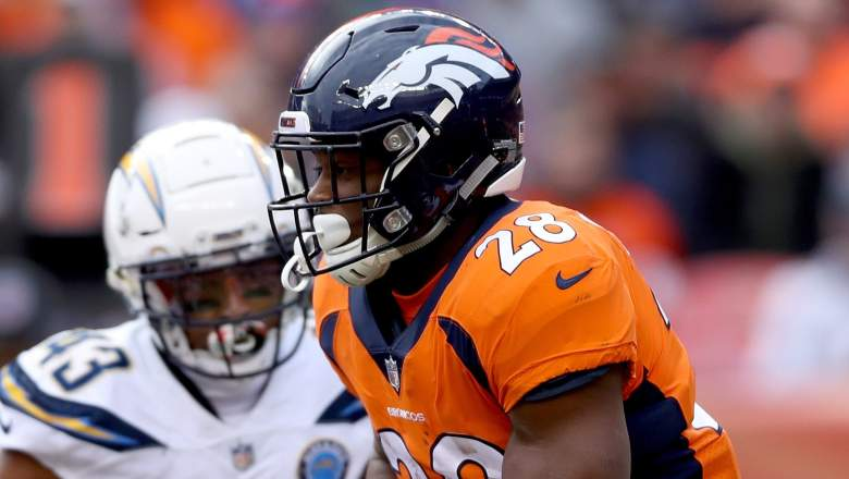 Broncos Running Backs Fantasy