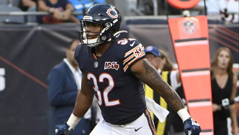 Chicago Bears Running Back David Montgomery