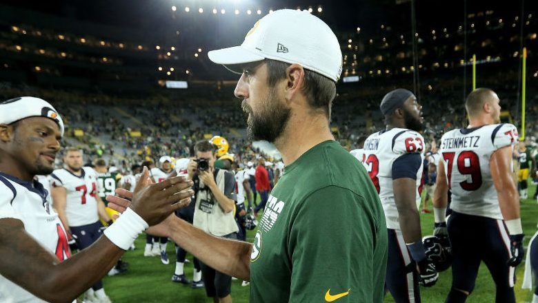 Aaron Rodgers Out