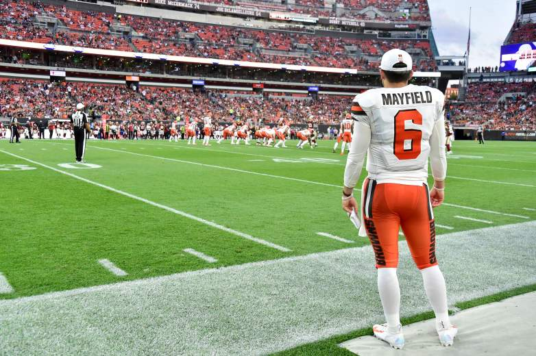 Baker Mayfield and the Cleveland Browns take on the Indianapolis Colts on Saturday in the second week of the NFL preseason.