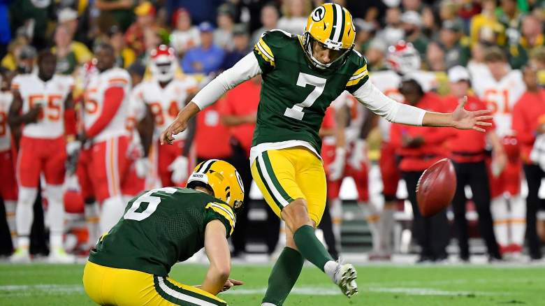 Packers Cut Sam Ficken