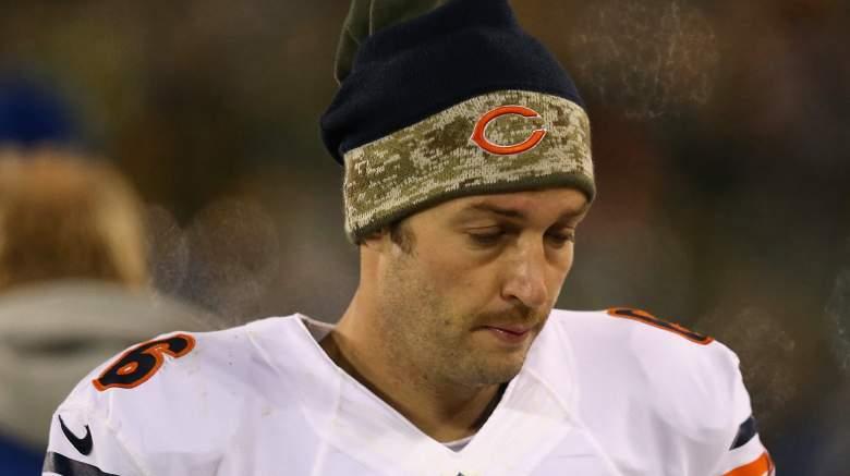 Former Chicago Bears quarterback Jay Cutler