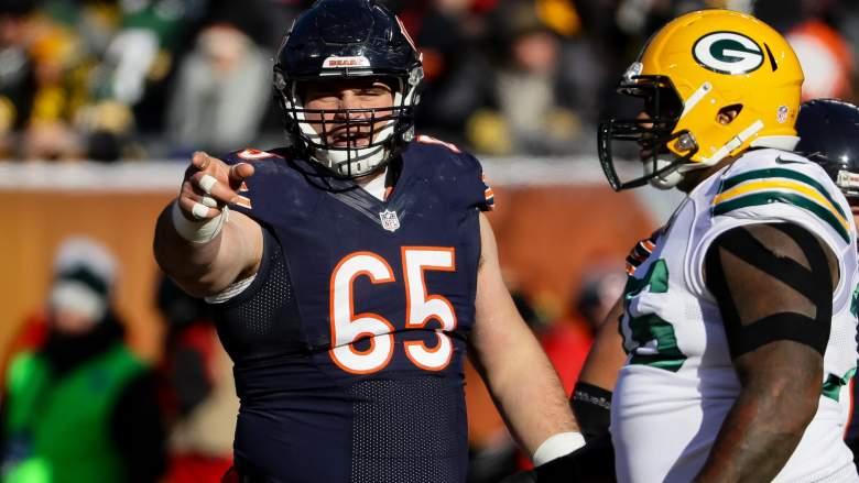 Chicago Bears Guard Cody Whitehair