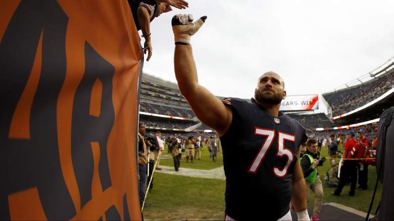 Chicago Bears Guard Kyle Long injured reserve retire