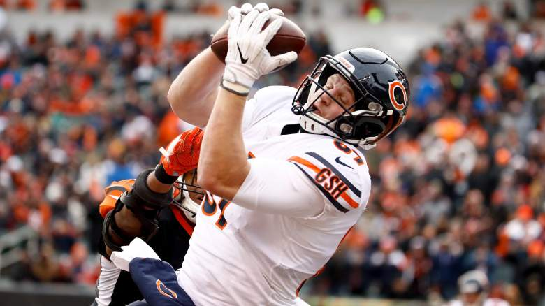 Chicago Bears Tight End Adam Shaheen